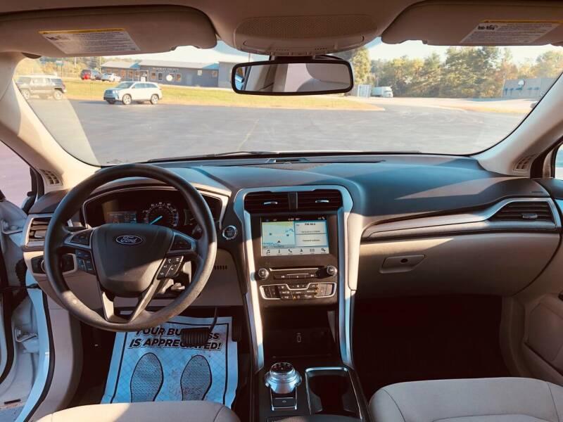2018 Ford Fusion SE 4dr Sedan - Morristown TN