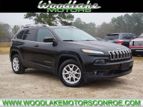 2015 Jeep Cherokee for sale at WOODLAKE MOTORS in Conroe TX