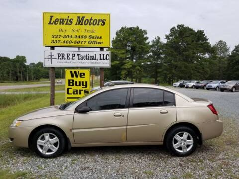 2007 Saturn Ion for sale at Lewis Motors LLC in Deridder LA