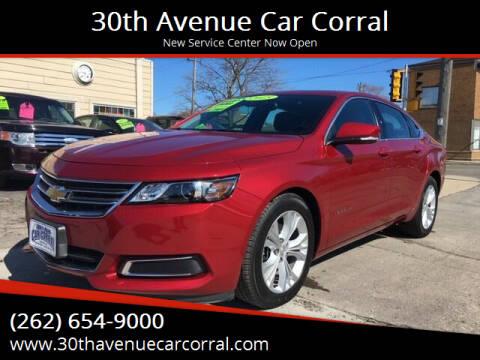 2015 Chevrolet Impala for sale at 30th Avenue Car Corral in Kenosha WI