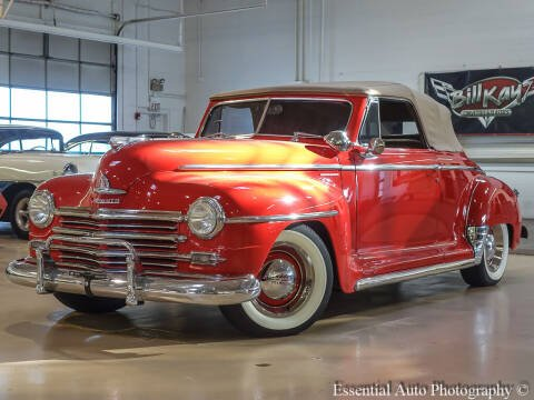 1947 Plymouth pass car for sale at Bill Kay Corvette's and Classic's in Downers Grove IL