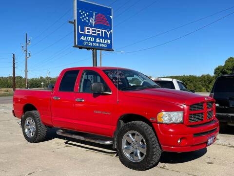 2005 Dodge Ram Pickup 1500 for sale at Liberty Auto Sales in Merrill IA