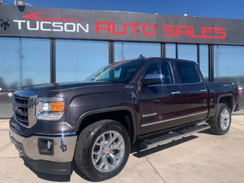 2015 GMC Sierra 1500 for sale at Tucson Auto Sales in Tucson AZ