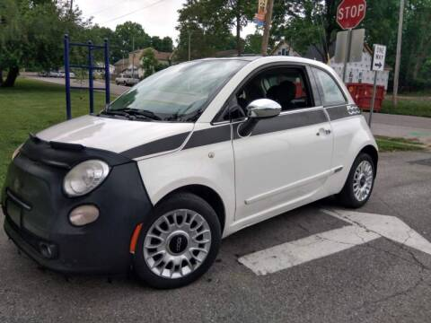 2012 FIAT 500 for sale at Eddie's Auto Sales in Jeffersonville IN
