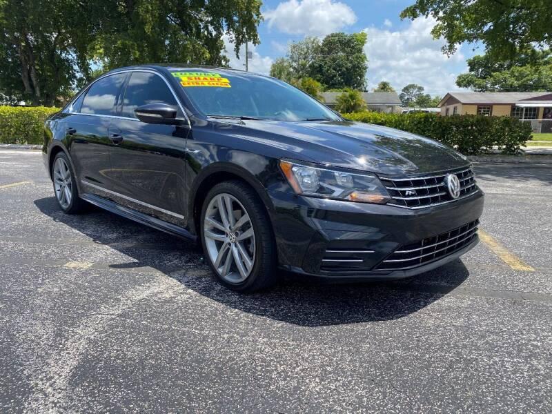 2017 Volkswagen Passat for sale at Lamberti Auto Collection in Plantation FL