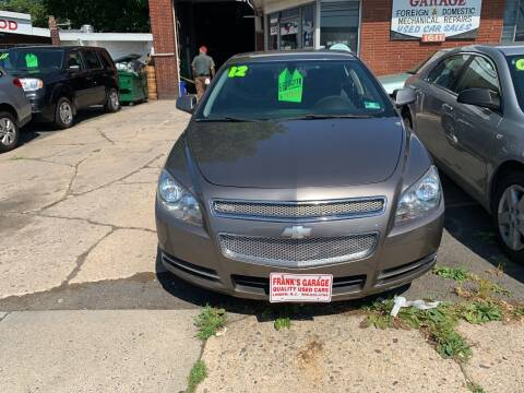 2012 Chevrolet Malibu for sale at Frank's Garage in Linden NJ