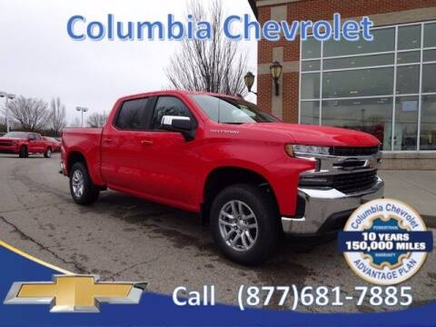 2021 Chevrolet Silverado 1500 for sale at COLUMBIA CHEVROLET in Cincinnati OH