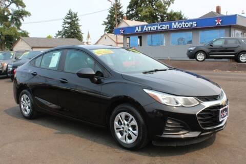 2019 Chevrolet Cruze for sale at All American Motors in Tacoma WA