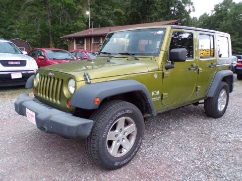 2007 Jeep Wrangler Unlimited for sale at Select Cars Of Thornburg in Fredericksburg VA