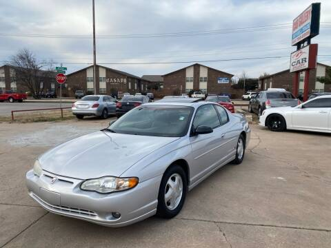 2002 Chevrolet Monte Carlo for sale at Car Gallery in Oklahoma City OK
