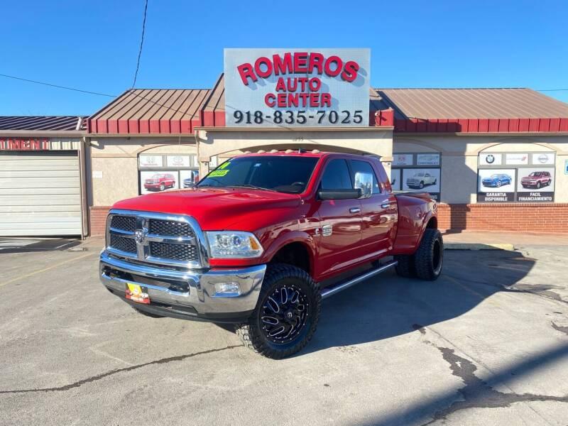 2014 RAM Ram Pickup 3500 for sale at Romeros Auto Center in Tulsa OK