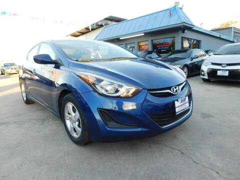 2015 Hyundai Elantra for sale at AMD AUTO in San Antonio TX