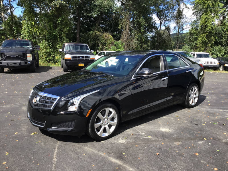 2013 Cadillac ATS for sale at AFFORDABLE AUTO SVC & SALES in Bath NY