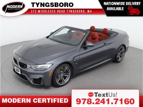 2016 BMW M4 for sale at Modern Auto Sales in Tyngsboro MA