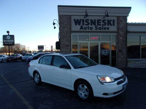 2004 Chevrolet Malibu for sale at Wisneski Auto Sales, Inc. in Green Bay WI