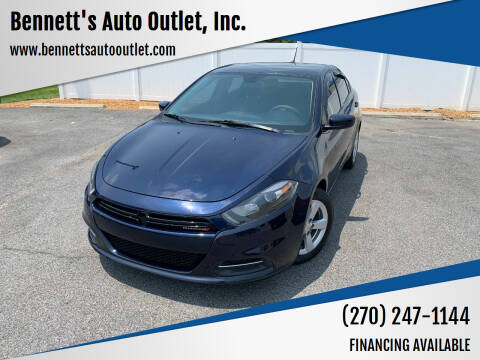 2015 Dodge Dart for sale at Bennett's Auto Outlet, Inc. in Mayfield KY