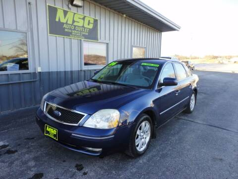 2006 Ford Five Hundred for sale at Moss Service Center-MSC Auto Outlet in West Union IA
