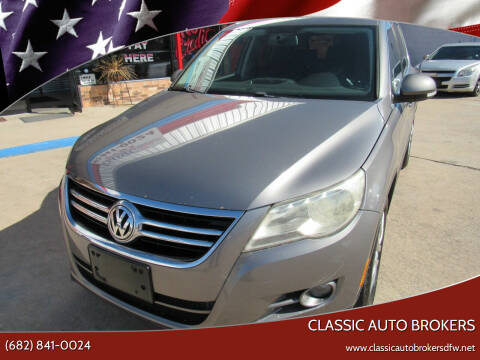 2010 Volkswagen Tiguan for sale at Classic Auto Brokers in Haltom City TX