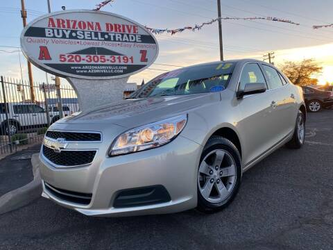 2013 Chevrolet Malibu for sale at Arizona Drive LLC in Tucson AZ