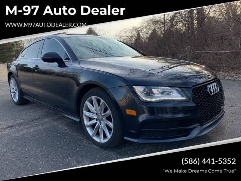 2013 Audi A7 for sale at M-97 Auto Dealer in Roseville MI