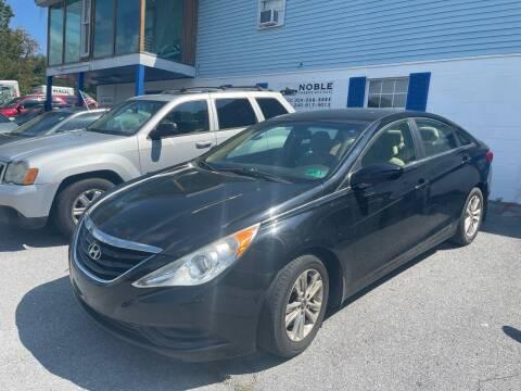 2012 Hyundai Sonata for sale at Noble PreOwned Auto Sales in Martinsburg WV