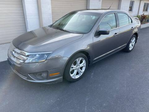 2012 Ford Fusion for sale at Ultimate Autos of Tampa Bay LLC in Largo FL