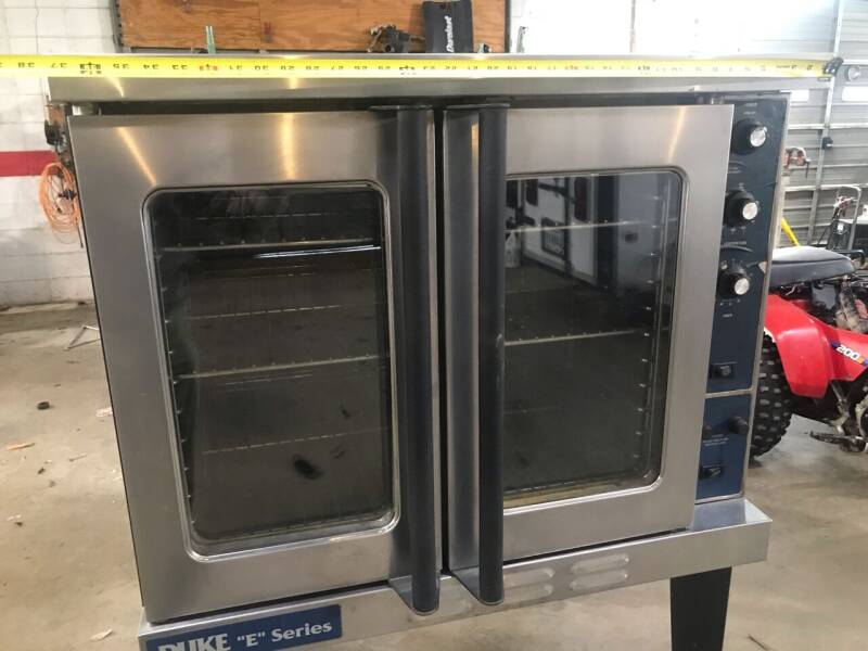 2000 DUKE MFG E-101-G CONVECTION OVEN for sale at Circle L Auto Sales Inc in Stuttgart AR