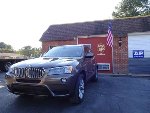 2011 BMW X3 for sale at AP Automotive in Cary NC