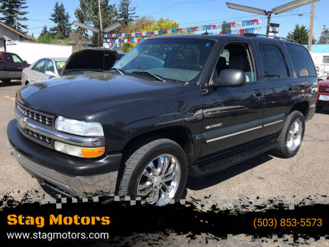 2003 Chevrolet Tahoe for sale at Stag Motors in Portland OR