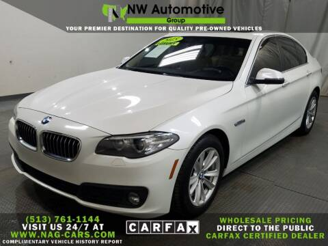2015 BMW 5 Series for sale at NW Automotive Group in Cincinnati OH