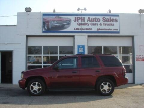 2007 Chevrolet TrailBlazer for sale at JPH Auto Sales in Eastlake OH