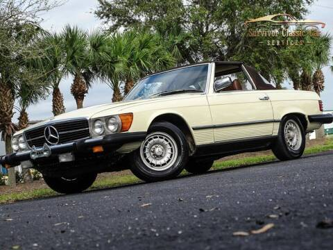 1979 Mercedes-Benz 450 SL for sale at SURVIVOR CLASSIC CAR SERVICES in Palmetto FL