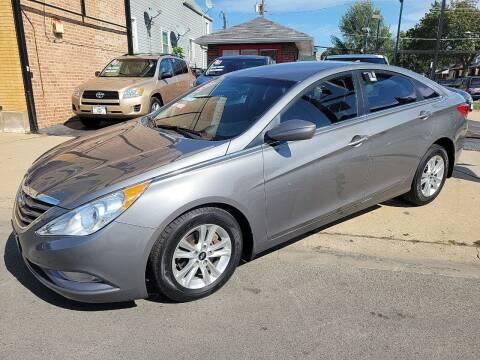 2013 Hyundai Sonata for sale at TEMPLETON MOTORS in Chicago IL