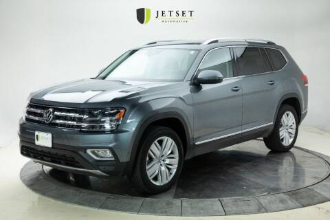 2018 Volkswagen Atlas for sale at Jetset Automotive in Cedar Rapids IA