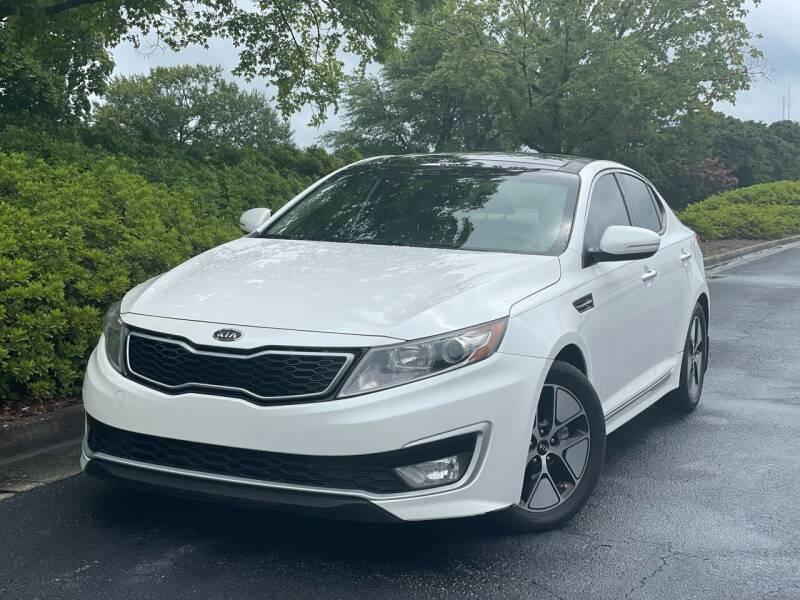 2012 Kia Optima Hybrid for sale at William D Auto Sales in Norcross GA
