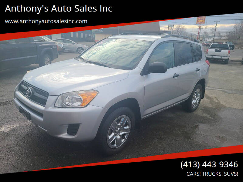 2011 Toyota RAV4 for sale at Anthony's Auto Sales Inc in Pittsfield MA