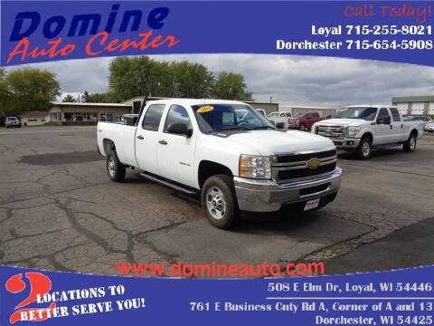 2014 Chevrolet Silverado 2500HD for sale at Domine Auto Center in Loyal WI
