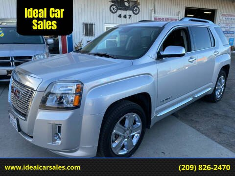 2013 GMC Terrain for sale at Ideal Car Sales in Los Banos CA