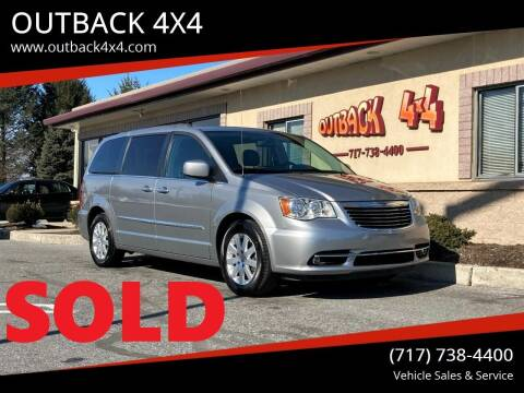 2016 Chrysler Town and Country for sale at OUTBACK 4X4 in Ephrata PA