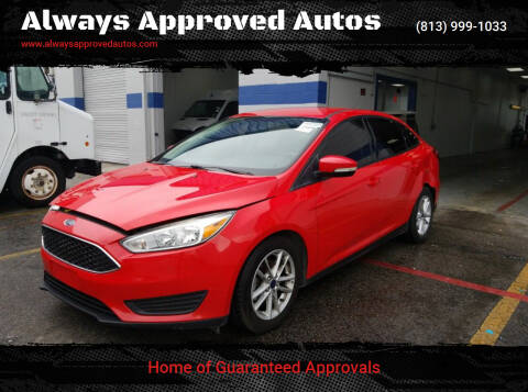 2016 Ford Focus for sale at Always Approved Autos in Tampa FL