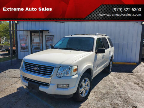 2008 Ford Explorer for sale at Extreme Auto Sales in Bryan TX