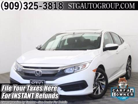 2018 Honda Civic for sale at STG Auto Group in Montclair CA