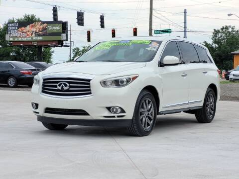 2013 Infiniti JX35 for sale at PRIME AUTO SALES in Indianapolis IN