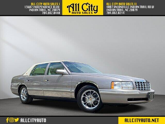 1998 Cadillac DeVille for sale at All City Auto Sales in Indian Trail NC