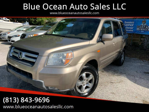 2007 Honda Pilot for sale at Blue Ocean Auto Sales LLC in Tampa FL