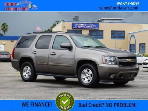 2012 Chevrolet Tahoe for sale at Sunny Florida Cars in Bradenton FL