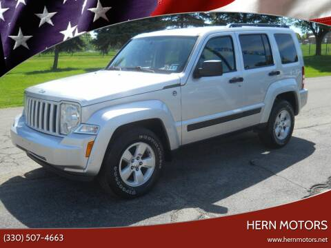 2009 Jeep Liberty for sale at Hern Motors - 111 Hubbard Youngstown Rd Lot in Hubbard OH