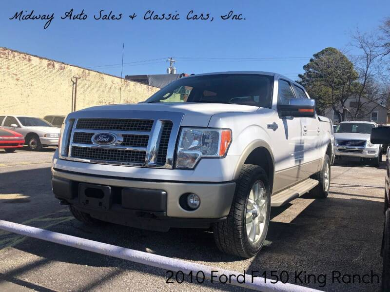 2010 Ford F-150 for sale at MIDWAY AUTO SALES & CLASSIC CARS INC in Fort Smith AR