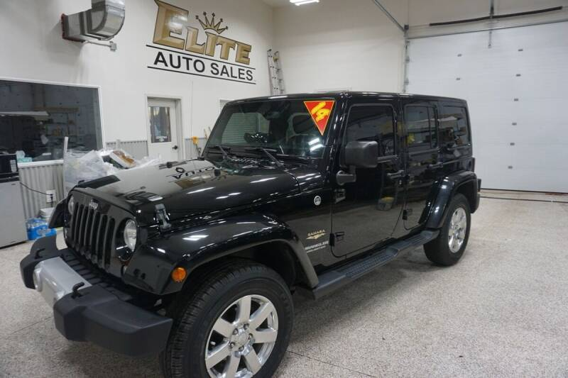 2014 Jeep Wrangler Unlimited for sale at Elite Auto Sales in Ammon ID