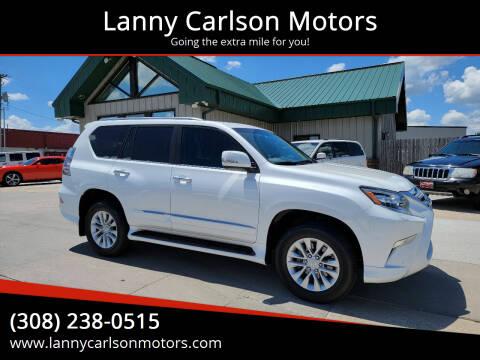 2017 Lexus GX 460 for sale at Lanny Carlson Motors in Kearney NE